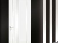 Białe lakierowane 3 D